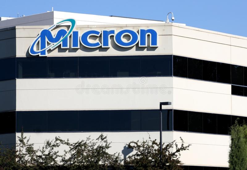 Download Micron Technology Headquarters Editorial Stock Image - Image of deal, micron: 26212789