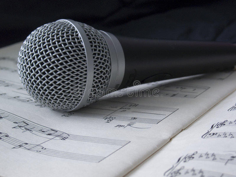 Download Microphone 04 stock photo. Image of instrument, classic - 4174922