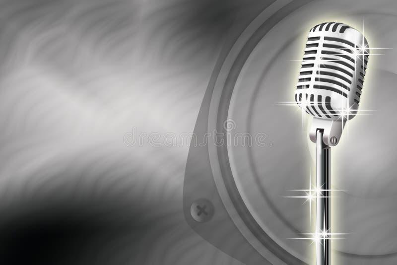 Download Microphone stock illustration. Illustration of sound - 11168447
