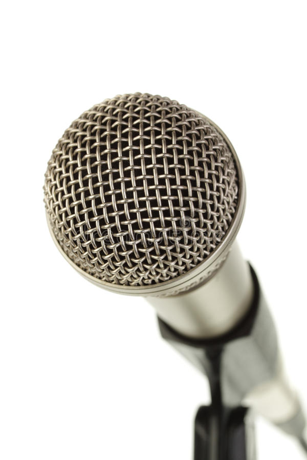 Download Microphone stock photo. Image of pickup, equipment, silver - 11336918