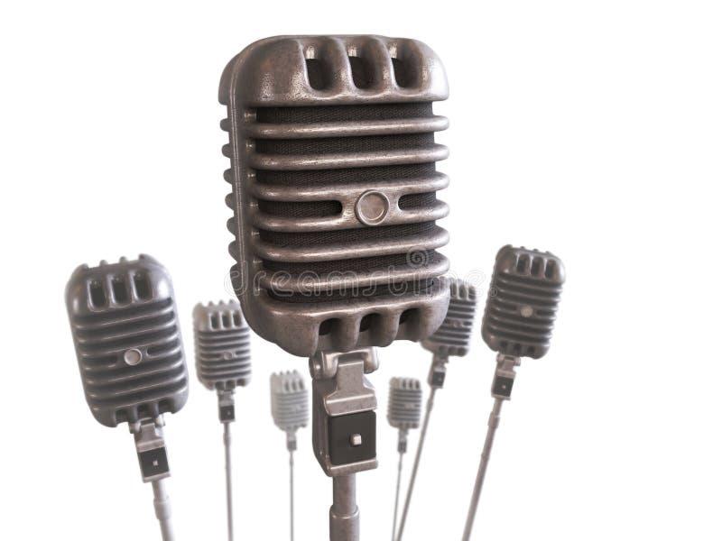 Download Microphone stock illustration. Illustration of equipment - 16931250