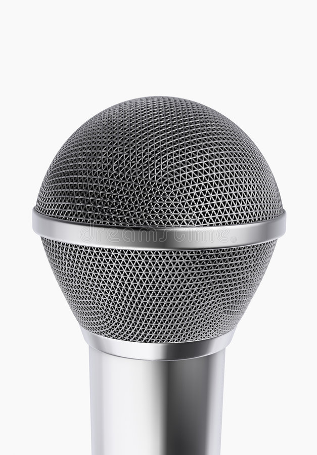 Microphone 2 royalty free illustration