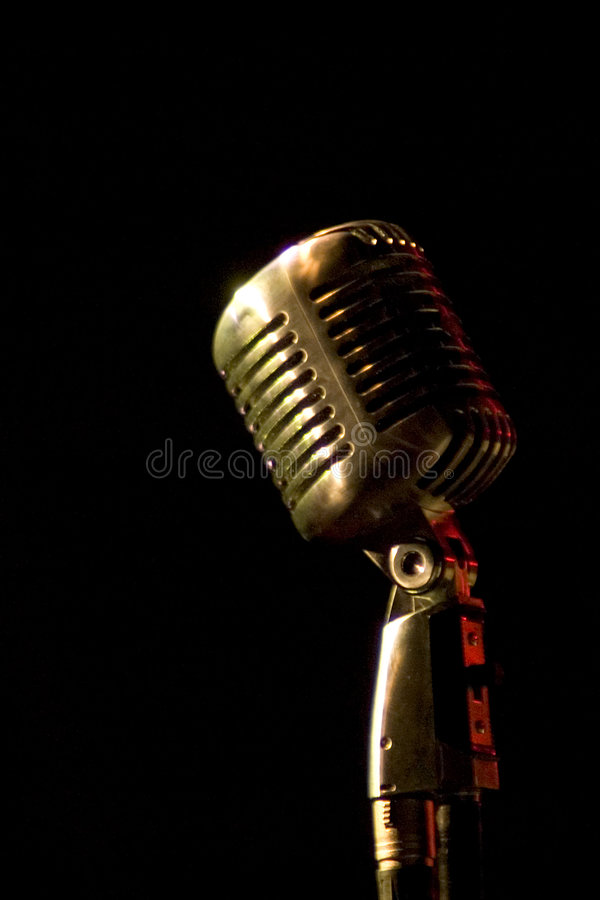 Download Microphone stock photo. Image of metal, stainless, mike - 215278