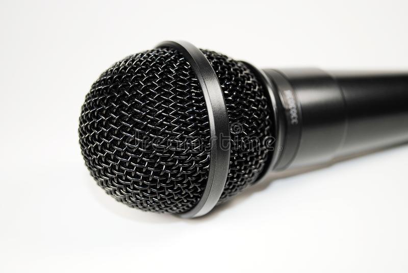 Download Microphone stock image. Image of black, vocal, singing - 22320823