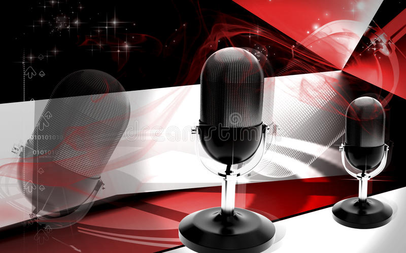 Download Microphone Stock Image - Image: 26425951