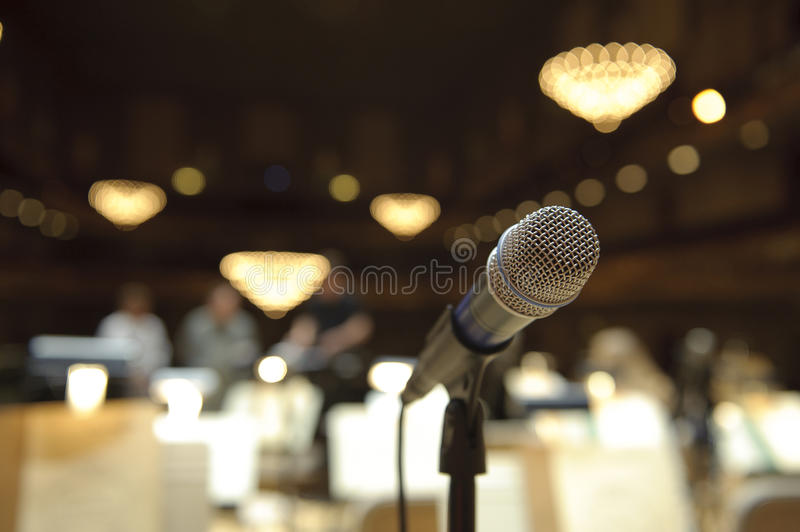 Download Microphone stock image. Image of blur, loud, orchestra - 28432231