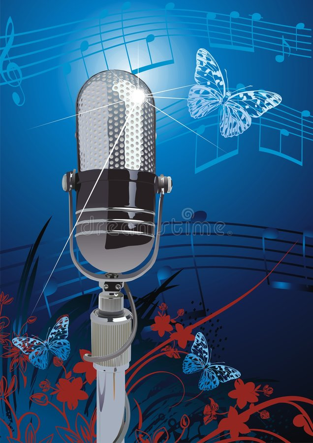 Free Microphone Royalty Free Stock Image - 4444746