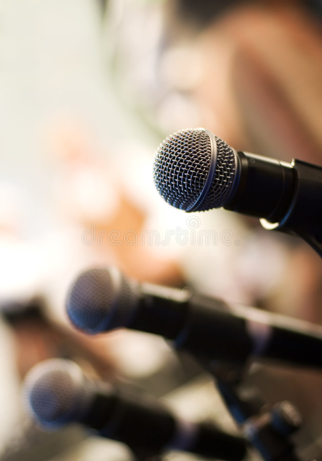 Free Microphone Stock Image - 4457541