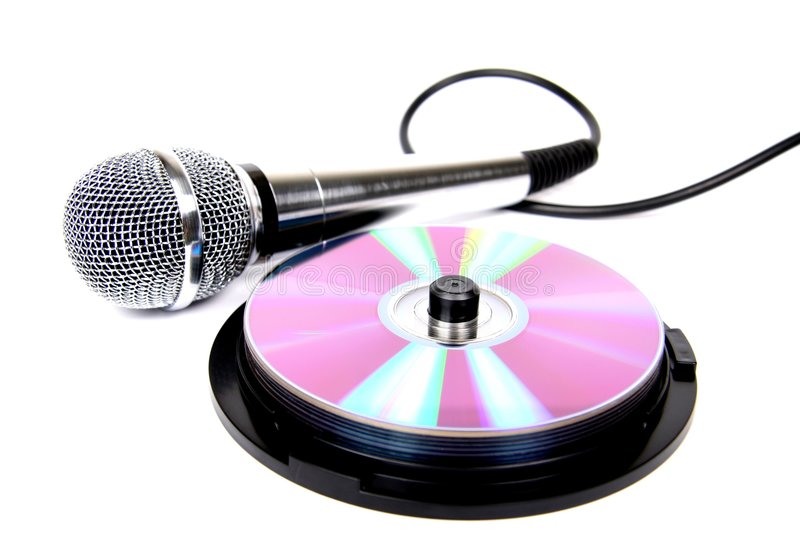 Microphone. stock image