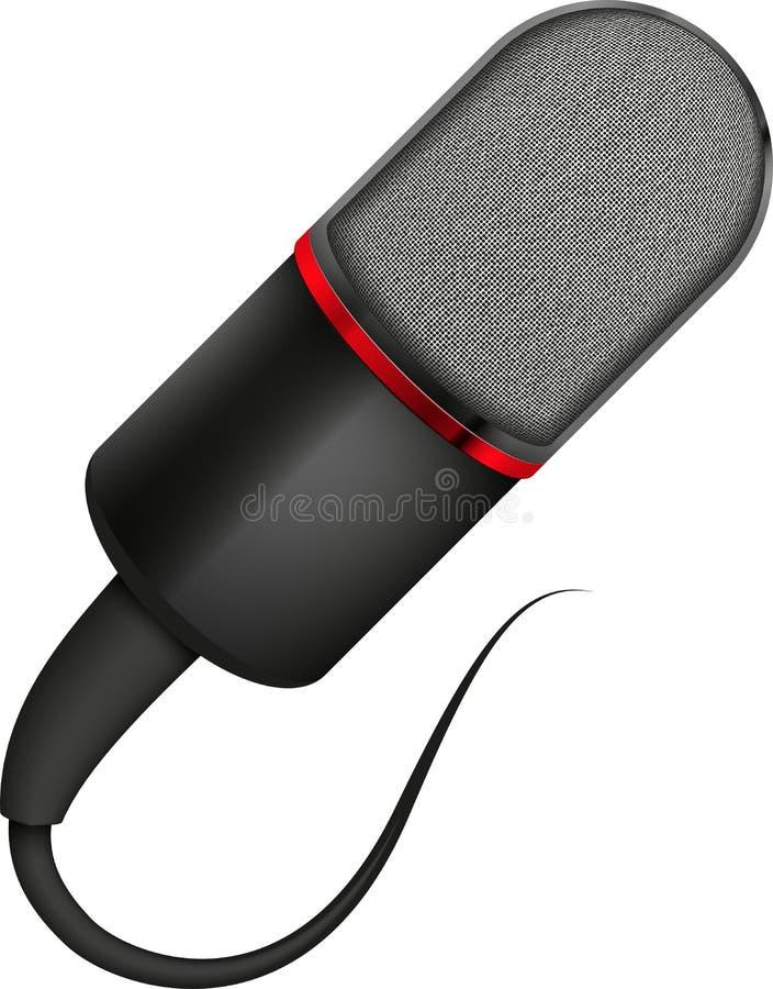 Download Microphone illustration de vecteur. Illustration du divertissement - 56479447