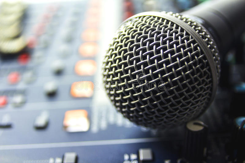 Microphone. royalty free stock photos