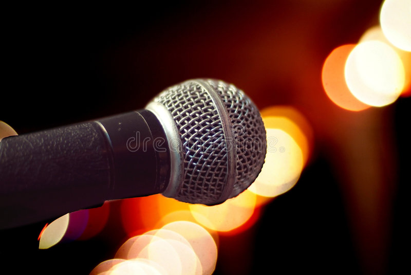 Download Microphone close-up stock image. Image of equipment, speach - 1840673