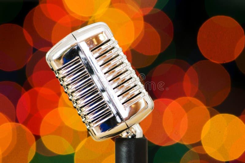 Microphone de cru image libre de droits