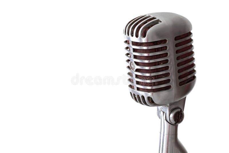 Microphone de cru images stock