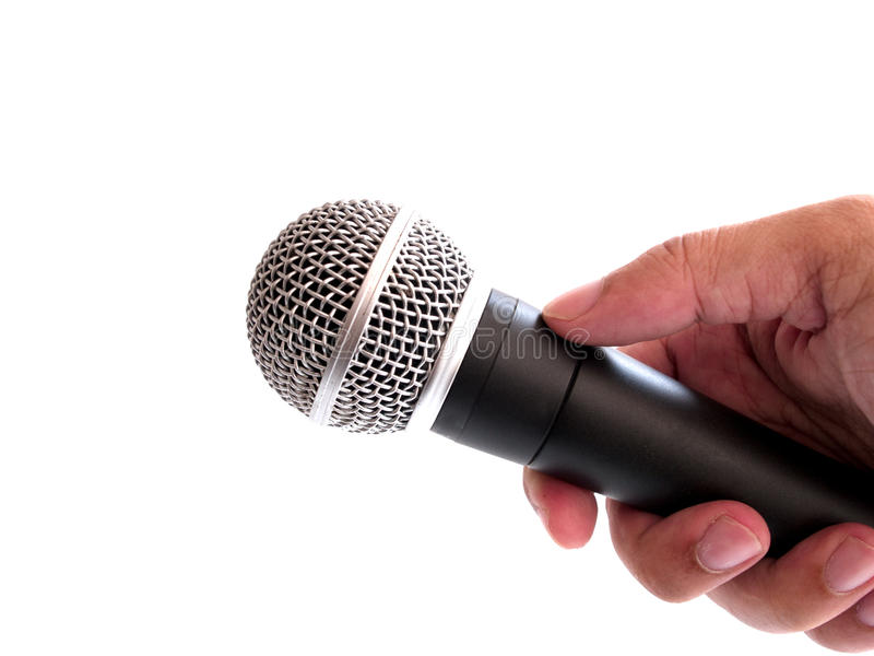 Microphone stock photography