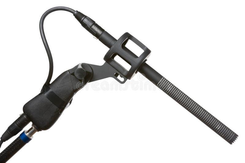Microphone directionnel images libres de droits