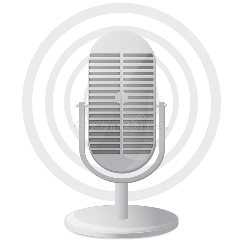 Free Microphone Icon Royalty Free Stock Images - 16519989