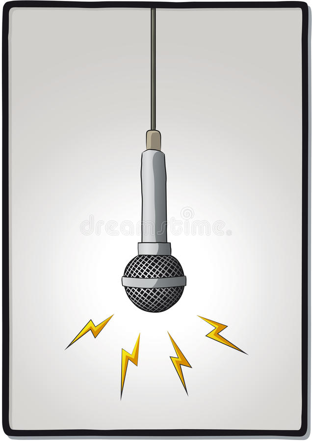 Download Microphone stock vector. Illustration of entertainment - 33316472