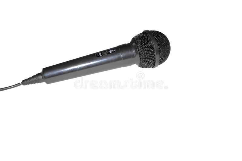 Download Microphone isolated stock image. Image of direction, isolated - 27701547