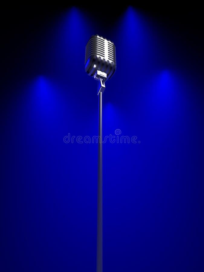 microphone old στοκ φωτογραφίες με δικαίωμα ελεύθερης χρήσης