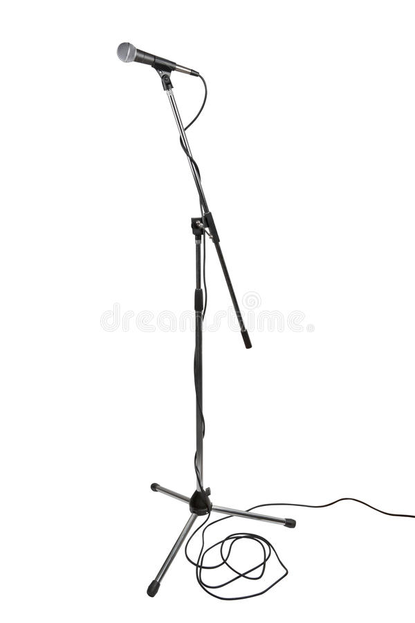 Free Microphone Stand Stock Photos - 16936553