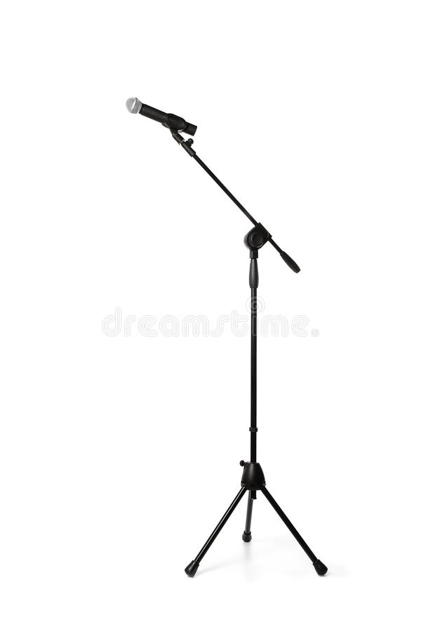 Microphone sur un stand photos stock