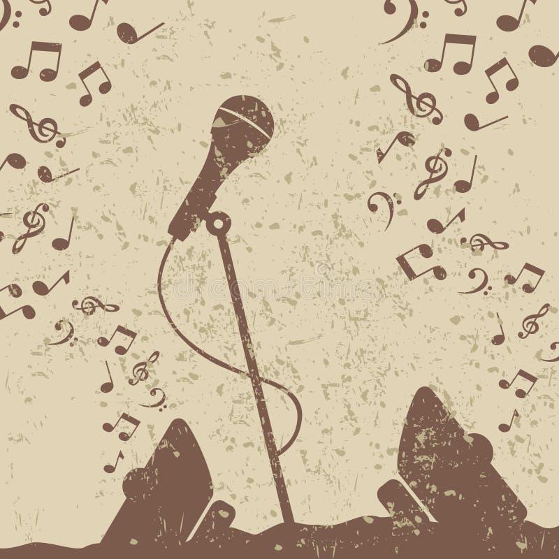 microphone2 αναδρομικός ελεύθερη απεικόνιση δικαιώματος