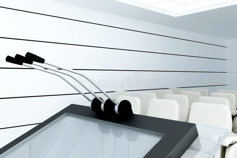 Download Microphones stock illustration. Illustration of auditorium - 27179860