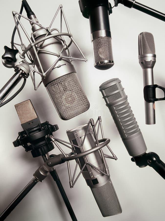 Microphones photo libre de droits