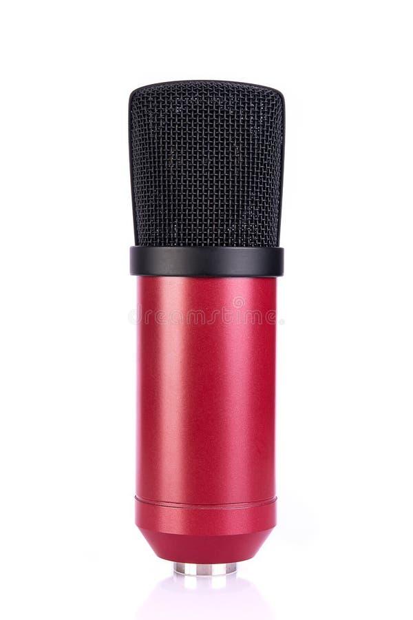 Microphones de condensateur photographie stock libre de droits