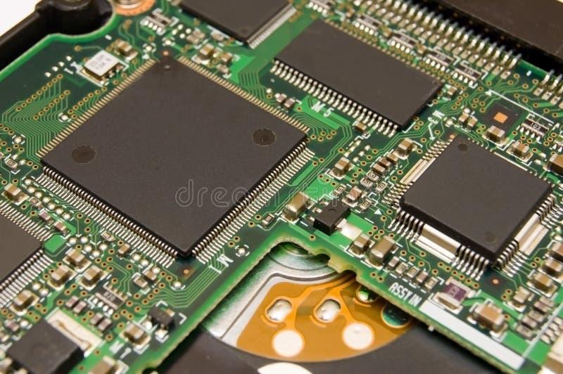 Microplaqueta abstrata imagem de stock