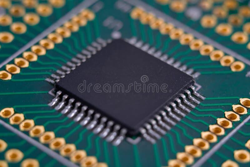 Microplaqueta alta tecnologia fotografia de stock royalty free