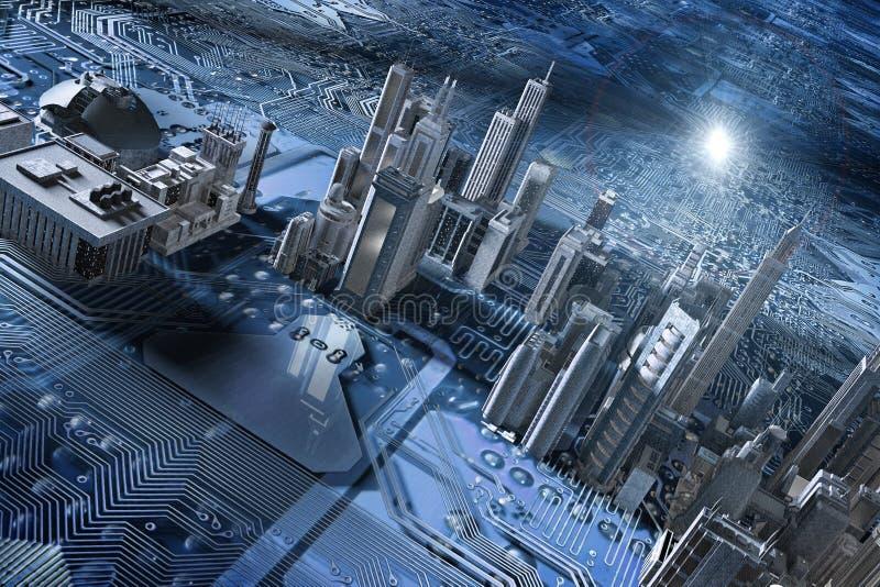 Microplaqueta da cidade