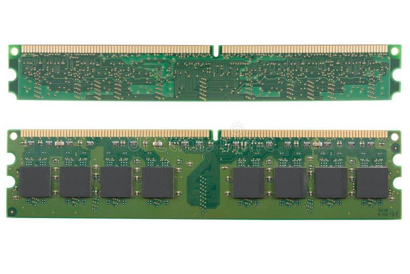 Microplaqueta da memória do computador foto de stock royalty free