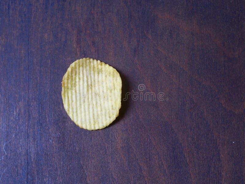 Microplaqueta de batata imagens de stock