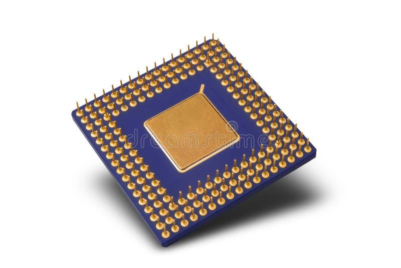 Microplaqueta de processador imagens de stock royalty free