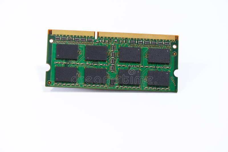 Microplaqueta de Ram da memória fotos de stock