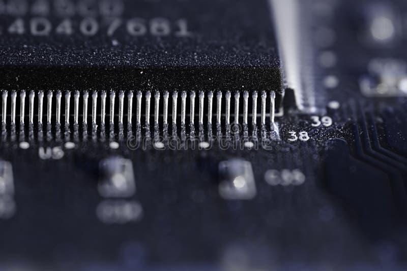 Microplaqueta de SMD imagem de stock royalty free