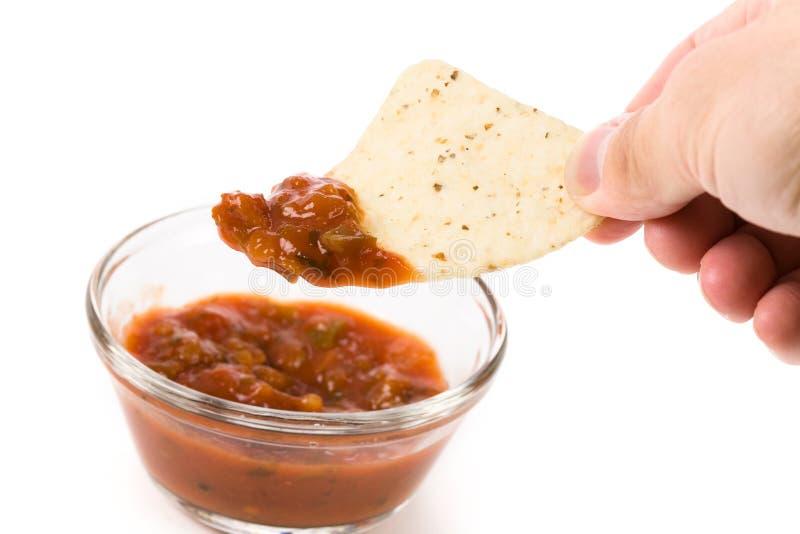 Microplaqueta de Tortilla fotos de stock royalty free