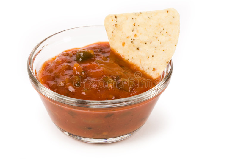 Microplaqueta de Tortilla imagens de stock royalty free