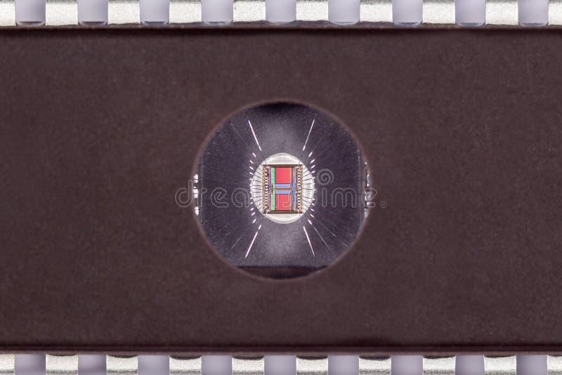 Microplaqueta do BAILE DE FINALISTAS com supressão UV foto de stock royalty free