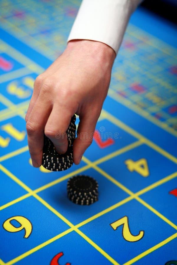 Microplaqueta do casino imagem de stock