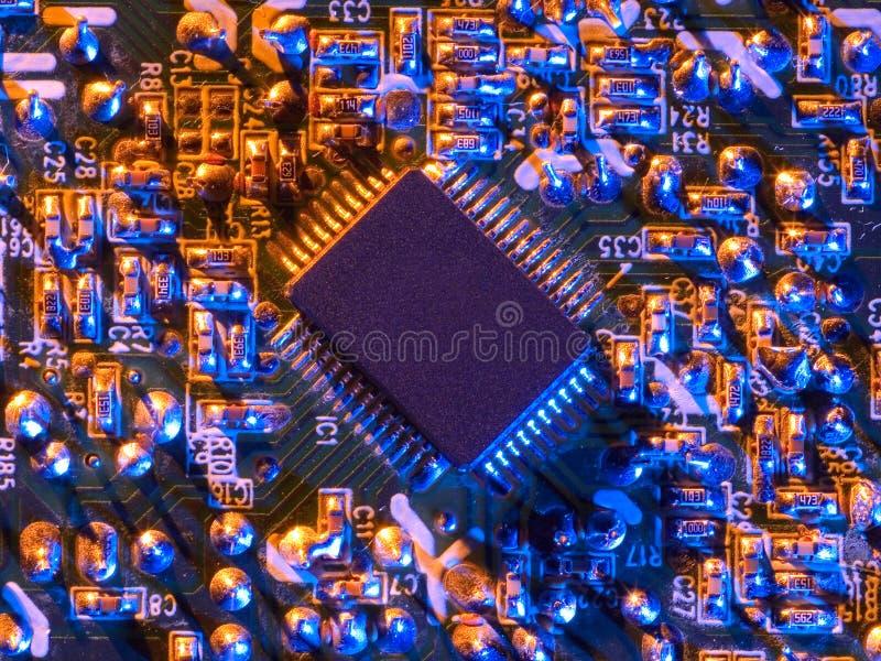 Microplaqueta original   imagem de stock royalty free