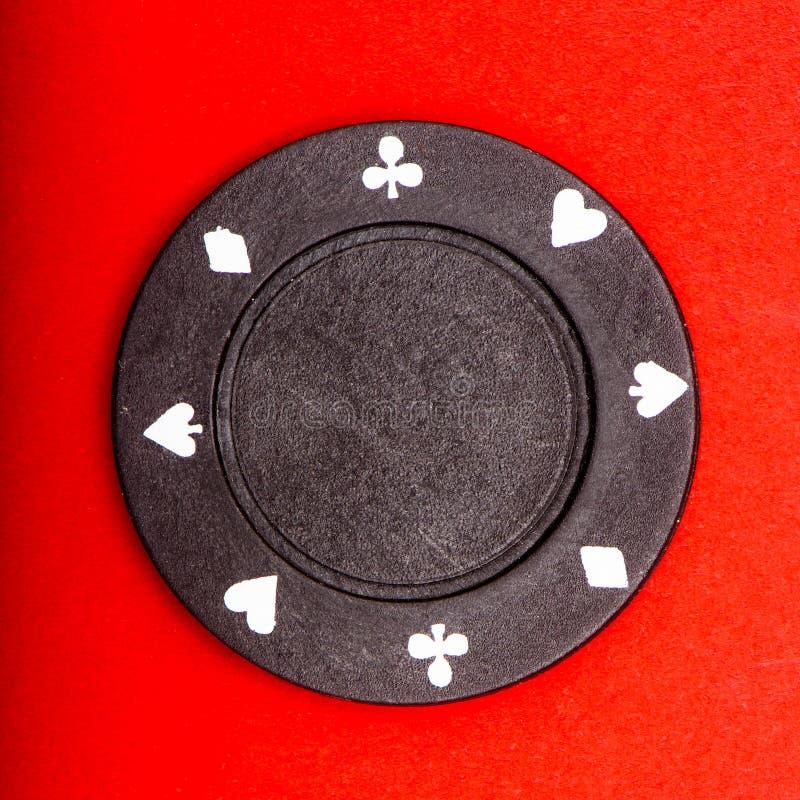 Microplaqueta de póquer imagens de stock royalty free