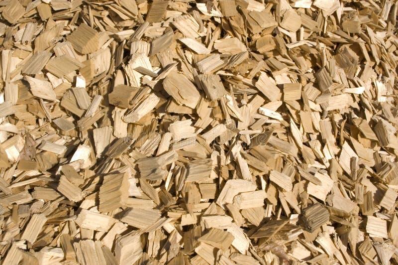 Microplaquetas de madeira. foto de stock royalty free