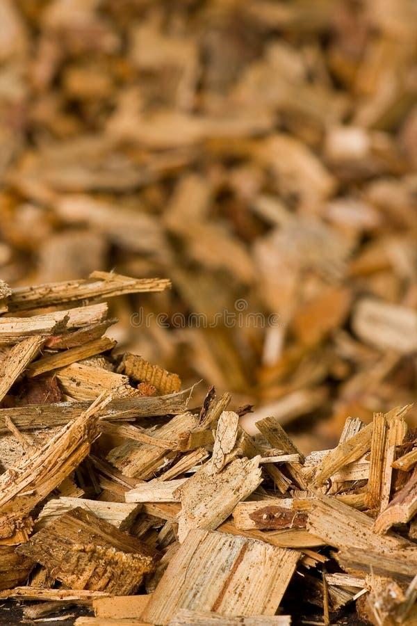 Microplaquetas de madeira fotos de stock royalty free