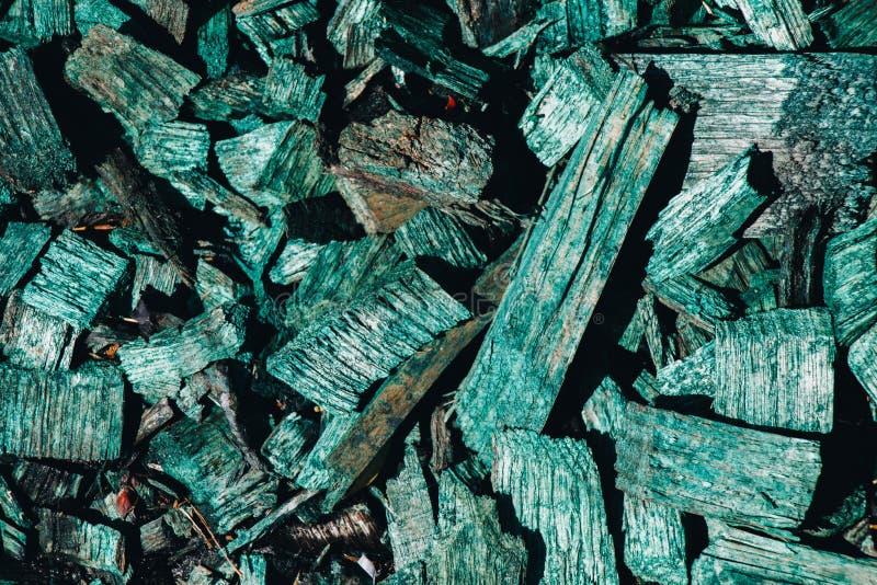 Microplaquetas de madeira ou casca do sucata ou a de madeira como o fundo foto de stock royalty free