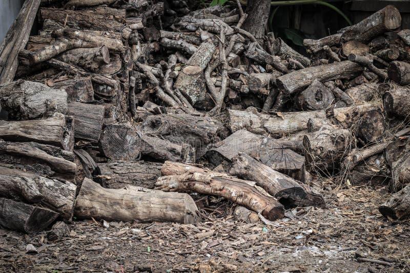 Microplaquetas de madeira para o combustível fotos de stock royalty free