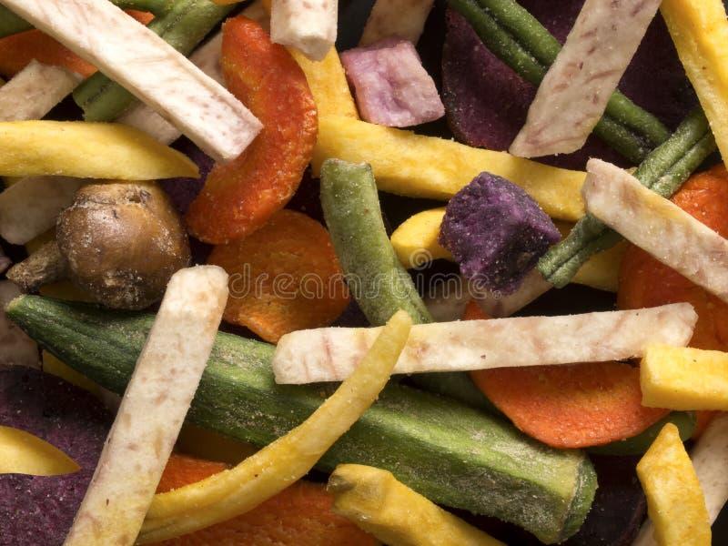 Microplaquetas vegetais imagem de stock royalty free