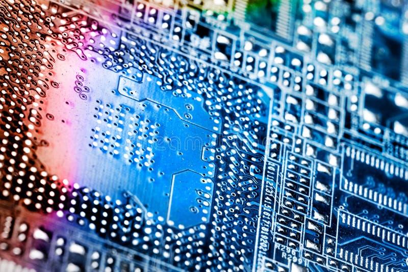 Microprocesador de Digitaces. fotografía de archivo libre de regalías